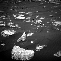 Nasa's Mars rover Curiosity acquired this image using its Left Navigation Camera on Sol 1642, at drive 2562, site number 61