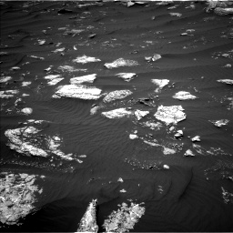 Nasa's Mars rover Curiosity acquired this image using its Left Navigation Camera on Sol 1642, at drive 2574, site number 61