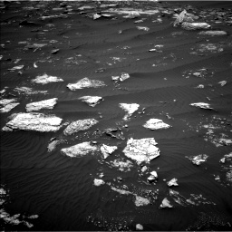 Nasa's Mars rover Curiosity acquired this image using its Left Navigation Camera on Sol 1642, at drive 2580, site number 61