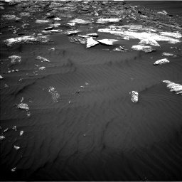 Nasa's Mars rover Curiosity acquired this image using its Left Navigation Camera on Sol 1642, at drive 2628, site number 61