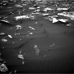 Nasa's Mars rover Curiosity acquired this image using its Left Navigation Camera on Sol 1642, at drive 2640, site number 61