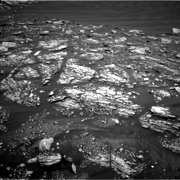 Nasa's Mars rover Curiosity acquired this image using its Left Navigation Camera on Sol 1642, at drive 2694, site number 61