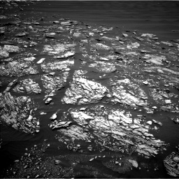 Nasa's Mars rover Curiosity acquired this image using its Left Navigation Camera on Sol 1642, at drive 2700, site number 61
