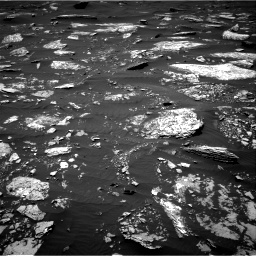 Nasa's Mars rover Curiosity acquired this image using its Right Navigation Camera on Sol 1642, at drive 2502, site number 61