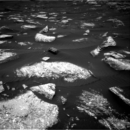 Nasa's Mars rover Curiosity acquired this image using its Right Navigation Camera on Sol 1642, at drive 2538, site number 61