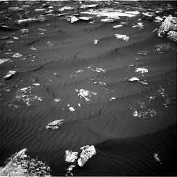 Nasa's Mars rover Curiosity acquired this image using its Right Navigation Camera on Sol 1642, at drive 2604, site number 61