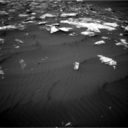 Nasa's Mars rover Curiosity acquired this image using its Right Navigation Camera on Sol 1642, at drive 2622, site number 61