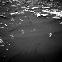 Nasa's Mars rover Curiosity acquired this image using its Right Navigation Camera on Sol 1642, at drive 2634, site number 61