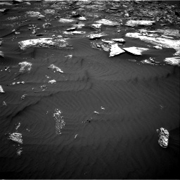 Nasa's Mars rover Curiosity acquired this image using its Right Navigation Camera on Sol 1642, at drive 2640, site number 61