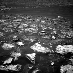 Nasa's Mars rover Curiosity acquired this image using its Right Navigation Camera on Sol 1642, at drive 2676, site number 61