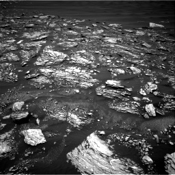 Nasa's Mars rover Curiosity acquired this image using its Right Navigation Camera on Sol 1642, at drive 2688, site number 61
