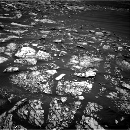 Nasa's Mars rover Curiosity acquired this image using its Right Navigation Camera on Sol 1642, at drive 2718, site number 61