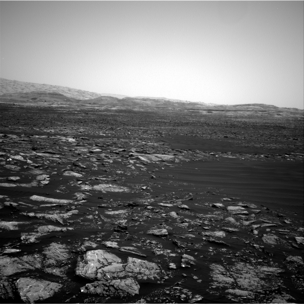Nasa's Mars rover Curiosity acquired this image using its Right Navigation Camera on Sol 1642, at drive 2740, site number 61
