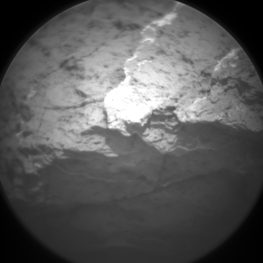 Nasa's Mars rover Curiosity acquired this image using its Chemistry & Camera (ChemCam) on Sol 1643, at drive 2740, site number 61