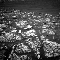Nasa's Mars rover Curiosity acquired this image using its Left Navigation Camera on Sol 1643, at drive 2740, site number 61