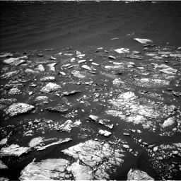 Nasa's Mars rover Curiosity acquired this image using its Left Navigation Camera on Sol 1643, at drive 2782, site number 61