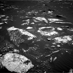 Nasa's Mars rover Curiosity acquired this image using its Left Navigation Camera on Sol 1643, at drive 2884, site number 61