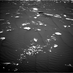 Nasa's Mars rover Curiosity acquired this image using its Left Navigation Camera on Sol 1643, at drive 2974, site number 61