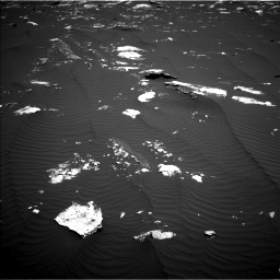 Nasa's Mars rover Curiosity acquired this image using its Left Navigation Camera on Sol 1643, at drive 2992, site number 61