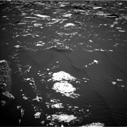 Nasa's Mars rover Curiosity acquired this image using its Left Navigation Camera on Sol 1643, at drive 3022, site number 61