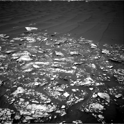 Nasa's Mars rover Curiosity acquired this image using its Right Navigation Camera on Sol 1643, at drive 2758, site number 61