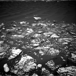Nasa's Mars rover Curiosity acquired this image using its Right Navigation Camera on Sol 1643, at drive 2770, site number 61