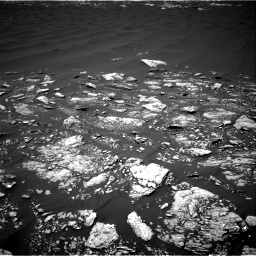 Nasa's Mars rover Curiosity acquired this image using its Right Navigation Camera on Sol 1643, at drive 2776, site number 61