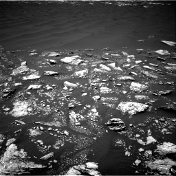 Nasa's Mars rover Curiosity acquired this image using its Right Navigation Camera on Sol 1643, at drive 2800, site number 61