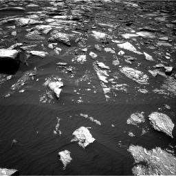 Nasa's Mars rover Curiosity acquired this image using its Right Navigation Camera on Sol 1643, at drive 2824, site number 61