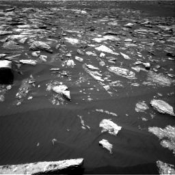 Nasa's Mars rover Curiosity acquired this image using its Right Navigation Camera on Sol 1643, at drive 2830, site number 61