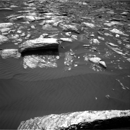 Nasa's Mars rover Curiosity acquired this image using its Right Navigation Camera on Sol 1643, at drive 2836, site number 61
