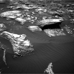 Nasa's Mars rover Curiosity acquired this image using its Right Navigation Camera on Sol 1643, at drive 2854, site number 61