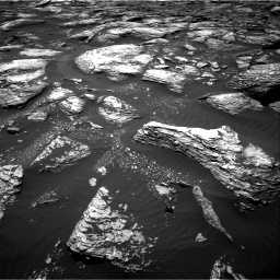 Nasa's Mars rover Curiosity acquired this image using its Right Navigation Camera on Sol 1643, at drive 2866, site number 61