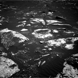 Nasa's Mars rover Curiosity acquired this image using its Right Navigation Camera on Sol 1643, at drive 2884, site number 61