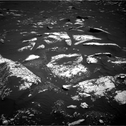 Nasa's Mars rover Curiosity acquired this image using its Right Navigation Camera on Sol 1643, at drive 2890, site number 61