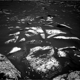 Nasa's Mars rover Curiosity acquired this image using its Right Navigation Camera on Sol 1643, at drive 2896, site number 61