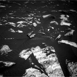 Nasa's Mars rover Curiosity acquired this image using its Right Navigation Camera on Sol 1643, at drive 2920, site number 61