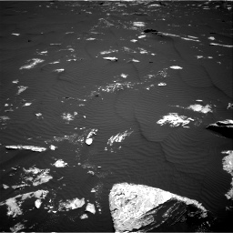 Nasa's Mars rover Curiosity acquired this image using its Right Navigation Camera on Sol 1643, at drive 2956, site number 61