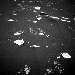 Nasa's Mars rover Curiosity acquired this image using its Right Navigation Camera on Sol 1643, at drive 2986, site number 61