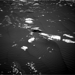 Nasa's Mars rover Curiosity acquired this image using its Right Navigation Camera on Sol 1643, at drive 3004, site number 61
