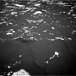 Nasa's Mars rover Curiosity acquired this image using its Right Navigation Camera on Sol 1643, at drive 3034, site number 61