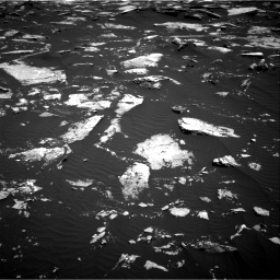 Nasa's Mars rover Curiosity acquired this image using its Right Navigation Camera on Sol 1643, at drive 3070, site number 61