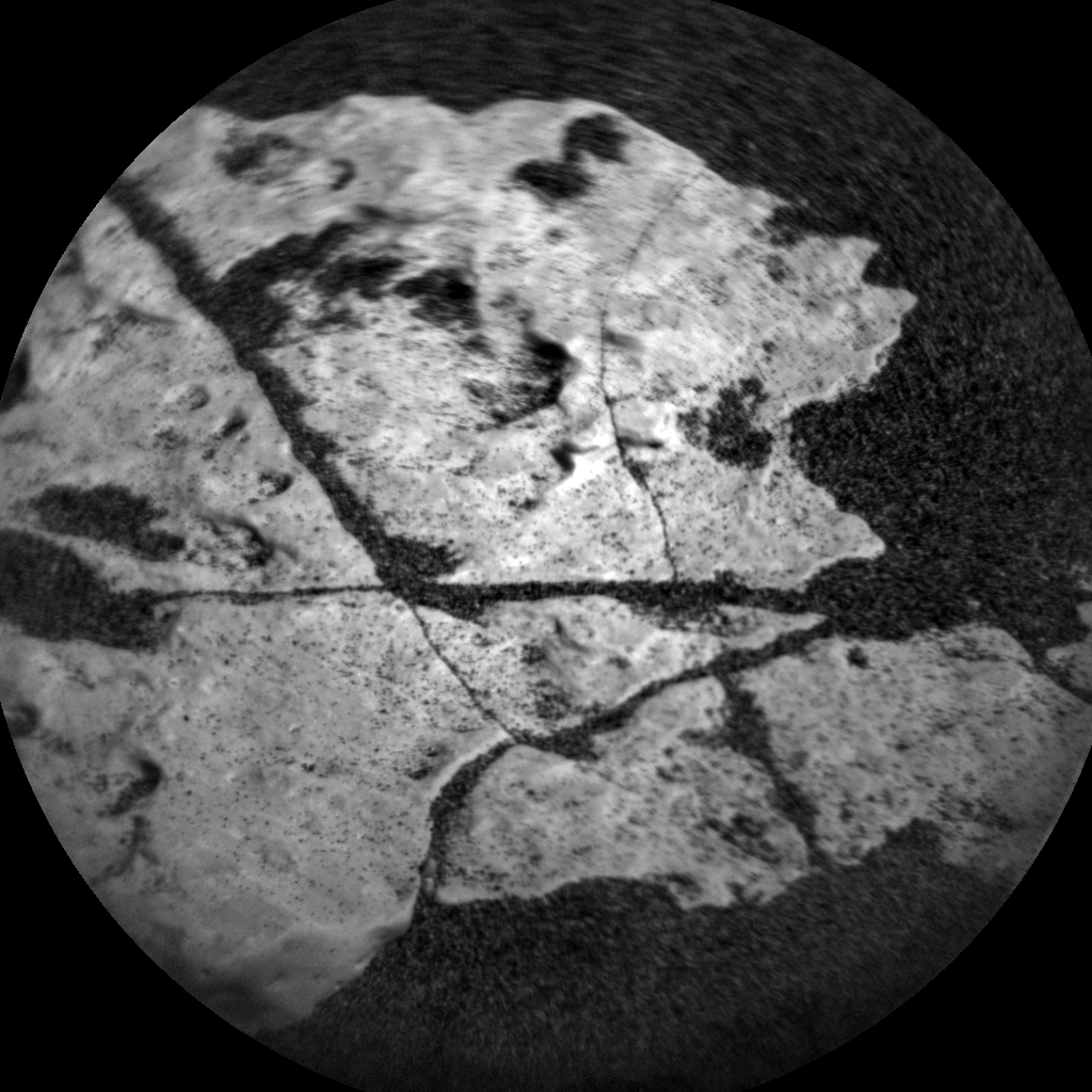Nasa's Mars rover Curiosity acquired this image using its Chemistry & Camera (ChemCam) on Sol 1643, at drive 3076, site number 61