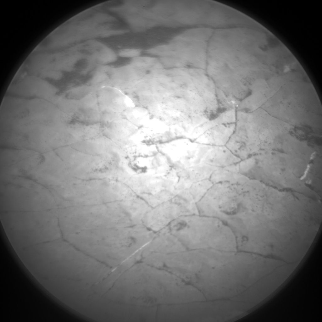 Nasa's Mars rover Curiosity acquired this image using its Chemistry & Camera (ChemCam) on Sol 1644, at drive 3076, site number 61