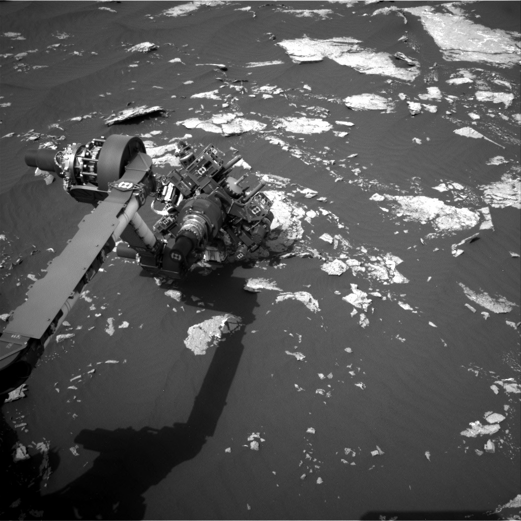 Nasa's Mars rover Curiosity acquired this image using its Right Navigation Camera on Sol 1644, at drive 3076, site number 61