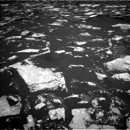 Nasa's Mars rover Curiosity acquired this image using its Left Navigation Camera on Sol 1645, at drive 3100, site number 61