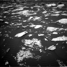 Nasa's Mars rover Curiosity acquired this image using its Left Navigation Camera on Sol 1645, at drive 3148, site number 61