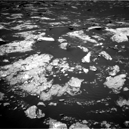 Nasa's Mars rover Curiosity acquired this image using its Left Navigation Camera on Sol 1645, at drive 3178, site number 61