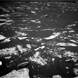 Nasa's Mars rover Curiosity acquired this image using its Left Navigation Camera on Sol 1645, at drive 3220, site number 61
