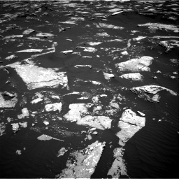 Nasa's Mars rover Curiosity acquired this image using its Right Navigation Camera on Sol 1645, at drive 3094, site number 61